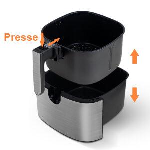 Friteuse sans huile professionnelle