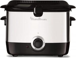 Moulinex AM 480870 friteuse électrique classique mega 2kg noir
